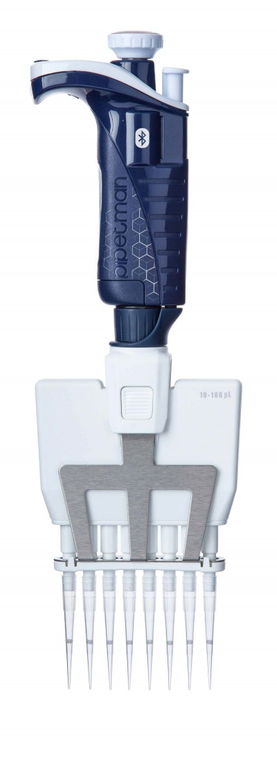 Pipetman P8x100M BT CONNECTED, 10-100 µL