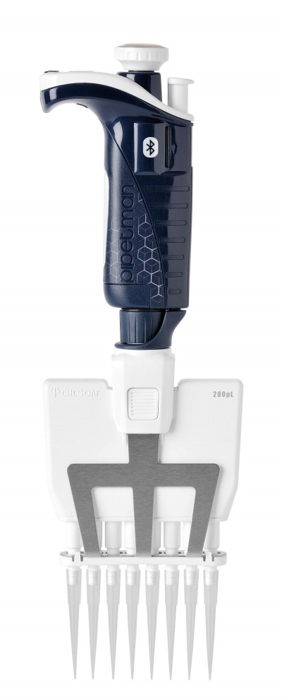 Pipetman P8x200M BT CONNECTED, 20-200 µL
